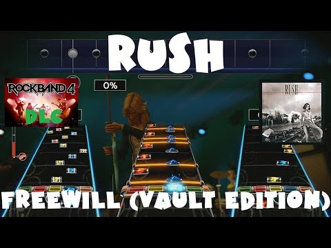 Rush - Freewill (Vault Edition) - Rock Band 4 DLC Expert Full Band (June 29th, 2017)