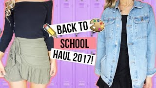 HUGE BACK TO SCHOOL TRY ON HAUL 2017 - Princess Polly, ASOS, MilkandBone + more