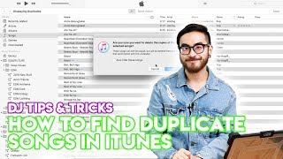 How To Find & Remove Duplicate Songs From iTunes Library - Quick & Easy!