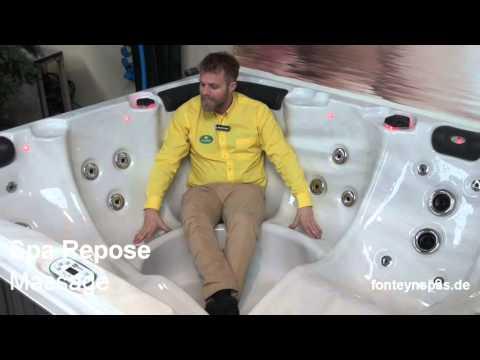Whirlpool Repose | Fonteynspas.de | Outdoor Whirlpool | Hamburg
