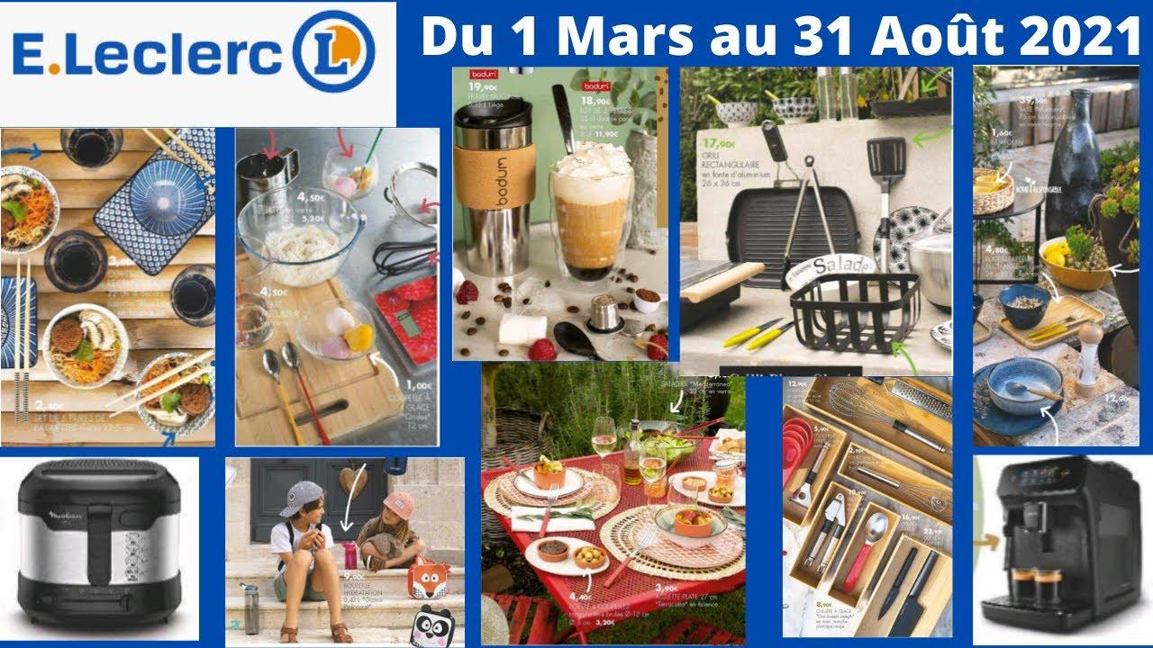 catalogue leclerc maison du 1 mars au