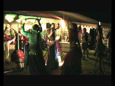Gypsy Dreams Belly Dance at the Fairy Festival 2012 Part One