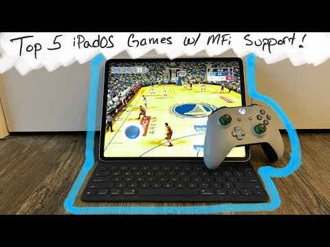 Top 5 IPadOS Games 2019 | With MFi Controller Support