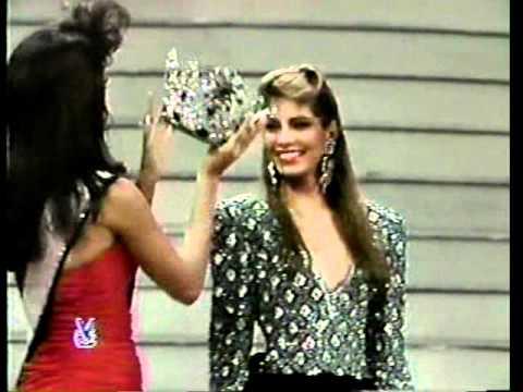 miss venezuela 1988 crowning moment youtube
