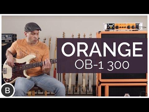 ORANGE OB1-300 BASS AMP