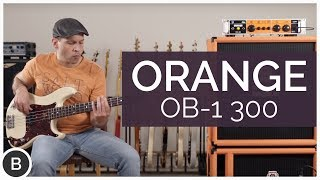 ORANGE OB1-300 BASS AMP