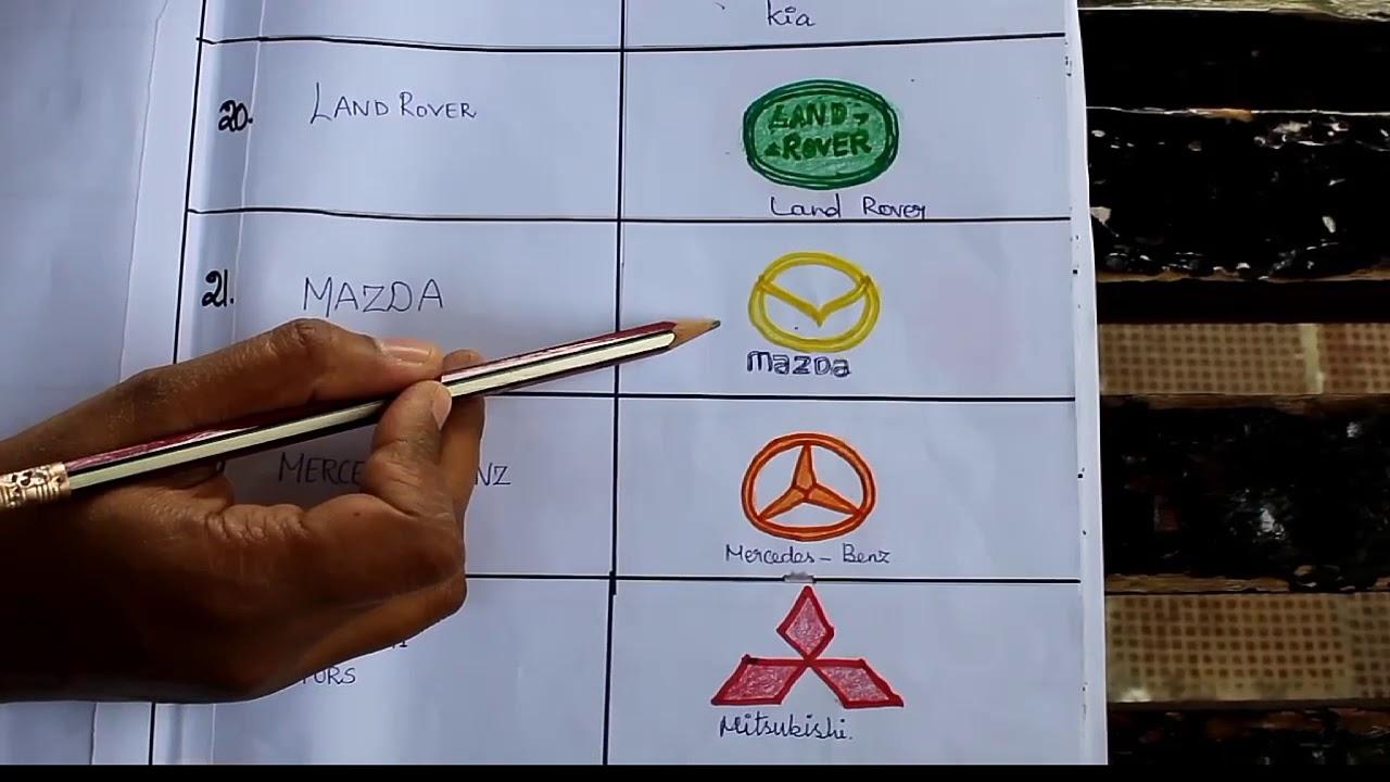 Car Symbols And Names >> Car Symbols And Name For Kids