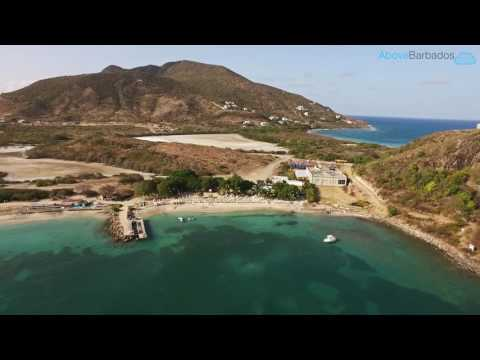 Drone flying in St Kitts