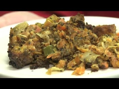 Casserole With Carrots & Stuffing : Vegetable Dishes