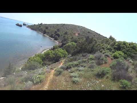 """""""Nauagia"""" path part1 (MTB @ Chalkis,Viotia,Greece)"""