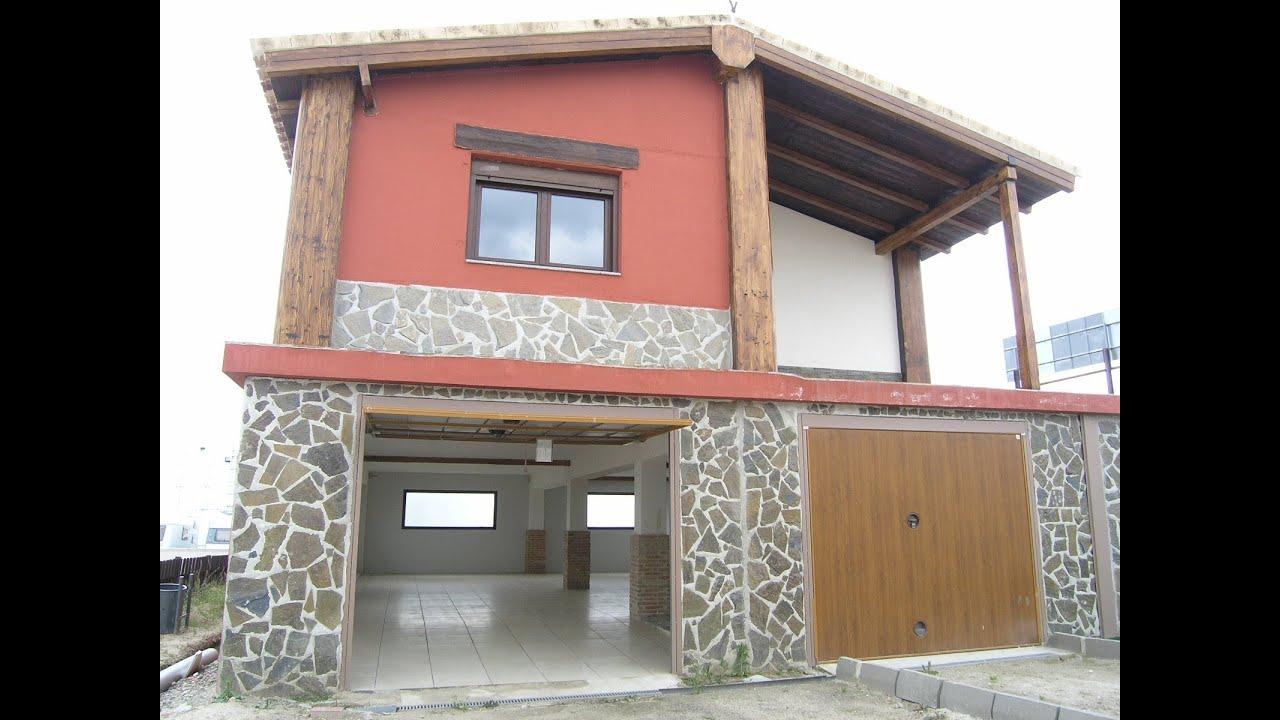 Casas prefabricadas de acero y hormigon modelo pilar con for Casas de hormigon asturias