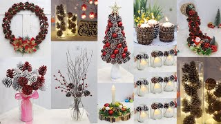 17 Christmas decoration ideas with pine cones