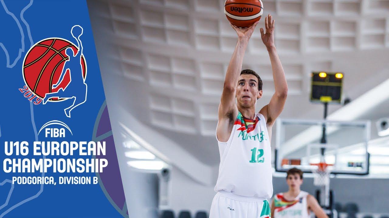 Portugal v Hungary - Full Game - FIBA U16 European Championship Division B 2019