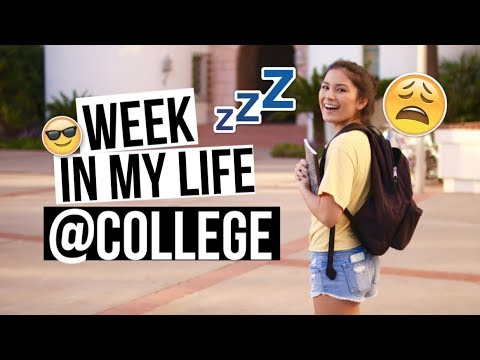 COLLEGE WEEK IN MY LIFE @San Diego State University