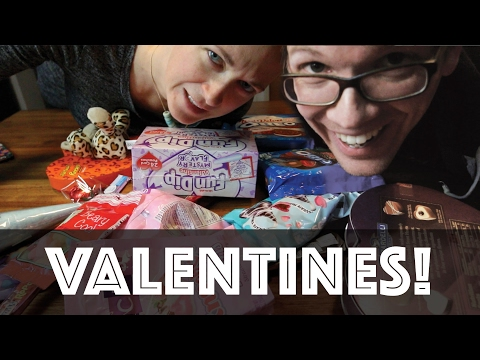 Valentines Candy Taste Test with Hank and Katherine