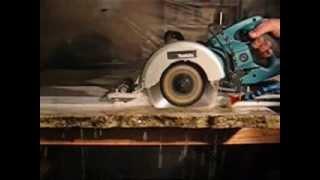 "RailMaster16 Wet Cutting 1 1/4"" granite"