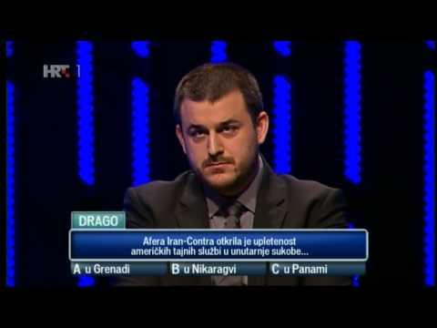 Kviz Potjera - rekordna ekipa I (30.3.2014.) S01E38; Ivan, Neda, Drago i Igor protiv Deana Kotige