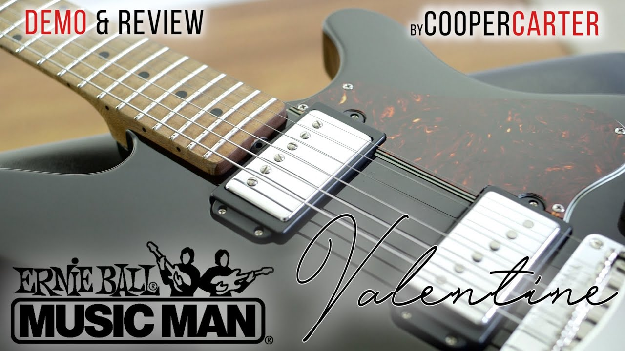 Ernie Ball Music Man VALENTINE Demo Amp Review By Cooper