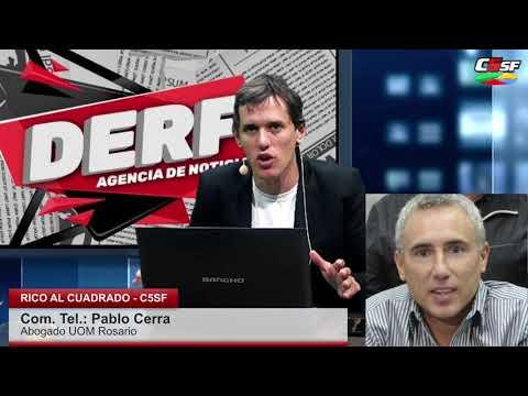 UOM Rosario: Hay 5.500 trabajadores en serio riesgo
