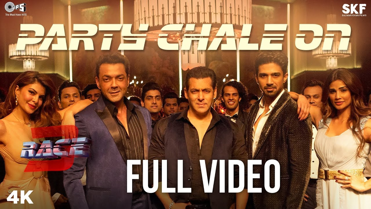 Download Party Chale On Full Song Video - Race 3 | Salman Khan | Mika Singh, Iulia Vantur | Vicky-Hardik
