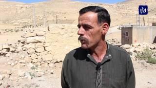 قرية النمته في الطفيلة تعاني غياب الخدمات الأساسية