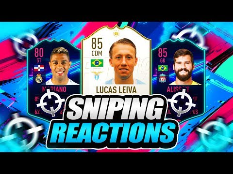 FIFA 19  ONES TO WATCH SNIPING ✅ 10K PROFIT FROM 1 SNIPE 🔥 SNIPING REACTIONS EP2 🐧