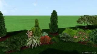 Ландшафтный дизайн коттеджного посёлка  . (Таунхаус в Подмосковье)(, 2016-03-28T15:58:34.000Z)