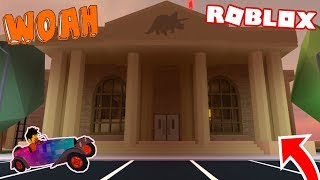 DA NEW MUSUEM!!! | Roblox | Jailbreak