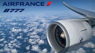 Air France Boeing 777-300ER, 🇫🇷 Paris CDG ✈️ Montreal YUL 🇨🇦 [FULL FLIGHT REPORT] Engine Roar !