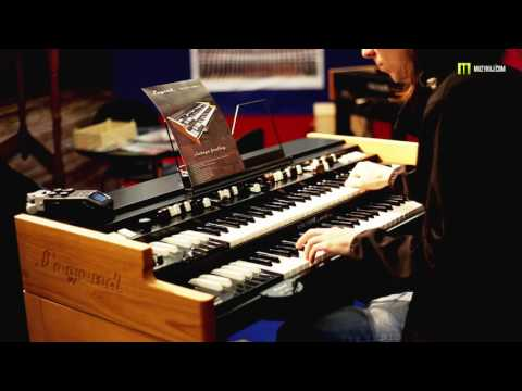 Nagrania dla muzykuj.com – Viscount Legend organ  – musikmesse 2017 gra: Kamil Barański www.muzykuj.com