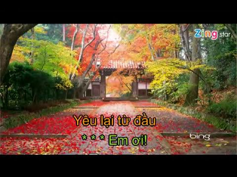 Yêu lại từ đầu karaoke beat Khắc Việt
