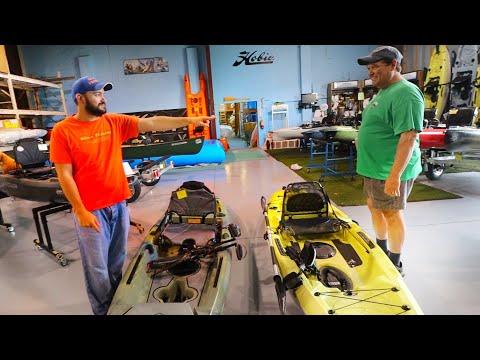 Budget Pedal Drive Kayak Vs Budget Hobie Passport 12 Vs Lightning Strike Kayaks
