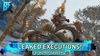 For Honor Season 2: New Executions Leaked!