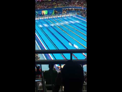 Michael Phelps takes 2nd in the 2016 100m butterfly Olympic final