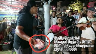 Pengamen Akustic JOGJA Shock Dan Terkejut Dapat Saweran Rp 1 Jt Bawain Tiga Lagu Daerah Indonesia
