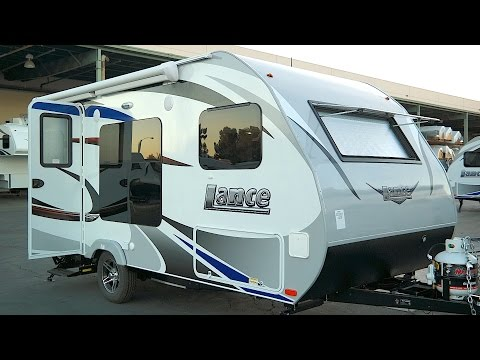 Lance 1475 Small Travel Trailer Under 3 500 Lb Youtube