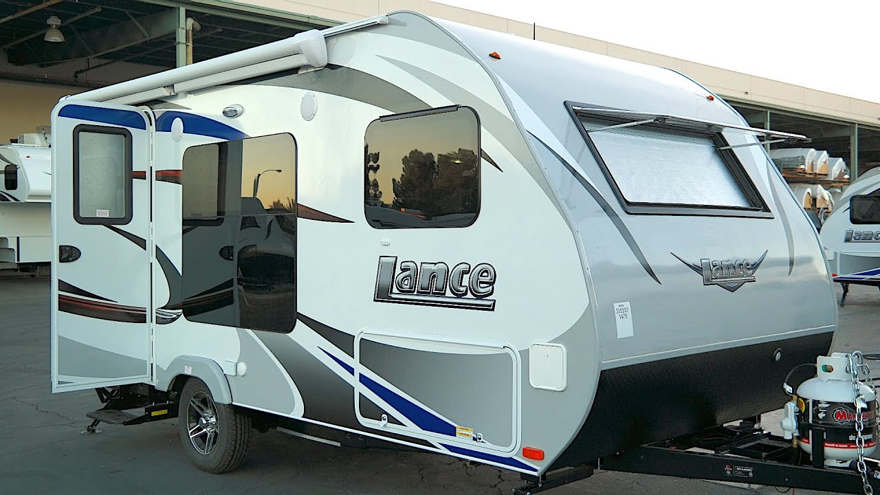 Best Small Rv 2020 Lance 1475 Small Travel Trailer Under 3,500 lb   YouTube
