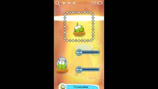 Cut the Rope: Time Travel - Level 4-15 - Ancient Egypt - 3 Star Walkthrough