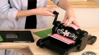 Die Cutting Machines - Using Sizzix Movers & Shapers
