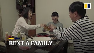 Rental Families To Heal Lonely Souls In Japan