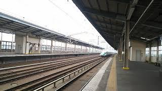 東北新幹線 はやぶさ20号 東京行き E5系と秋田新幹線 こまち28号 東京行き E6系  2018.07.21