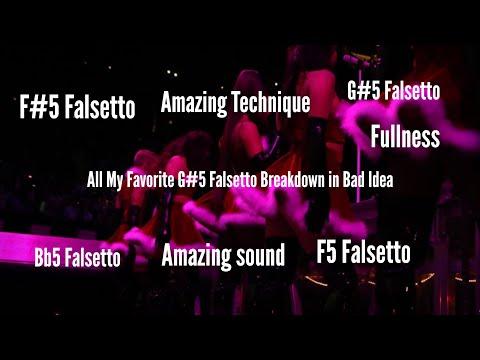 Ariana Grande All My Favorite Bad Idea G 5 Falsetto Breakdown Youtube