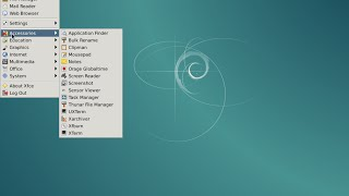 Linux Debian 8 Xfce 64bit. Install and brief review.