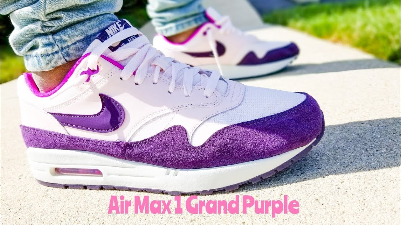 Nike Air Max 1 Grand Purple Unboxing & On Feet