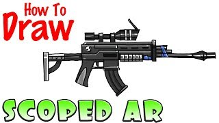 How to Draw the Scoped AR | Fortnite