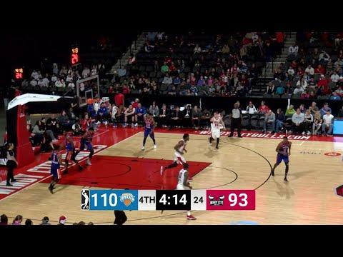 Antonio Blakeney (35 points) Game Highlights vs. Westchester Knicks