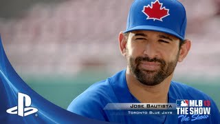 MLB 13 THE SHOW:  Jose Bautista | :30 Commercial
