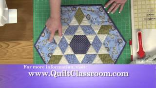 Quilt Table Runners: Using Ozark Star Topper Pattern