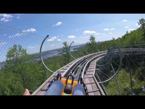 Timber Twister Alpine Slide Spirit Mountain