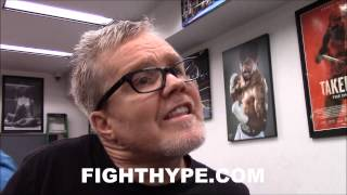 FREDDIE ROACH TALKS STRATEGY AGAINST GENNADY GOLOVKIN: